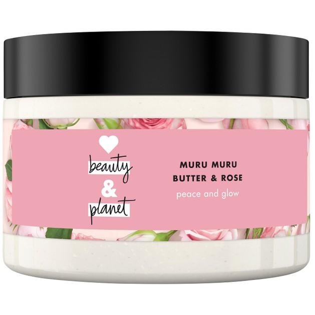 Love Beauty & Planet Muru Muru & Rose Body Scrub 250ml