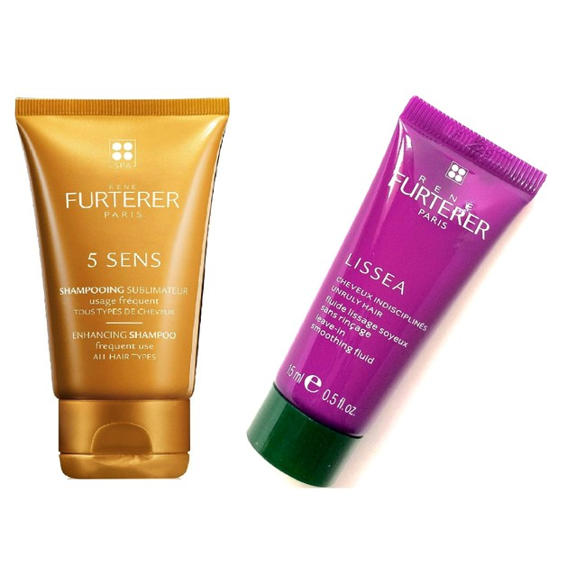 Δώρο Rene 5 Sens Enhancing Shampoo 15ml & Rene Furterer Lissea leave-in Smoothing Fluide 15ml