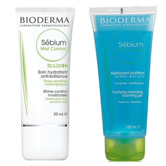 Πακέτο Προσφοράς Sebium Mat Control 30ml & Δώρο Sebium Gel Moussant 100ml - Bioderma