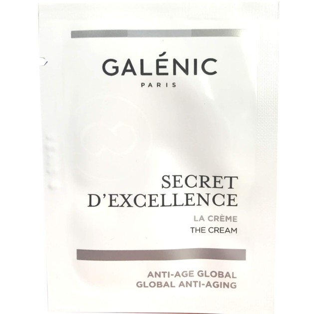 Δώρο Galenic Secret d\'Excellence - La Creme Αντιγηραντική Λευκή Κρέμα με Λεπτή Υφή 5ml