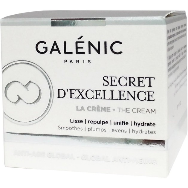 Δώρο Galenic Mini Sizer Secret d\'Excellence La Creme Αντιγηραντική Κρέμα Λεπτόρρευστης Υφής 15ml
