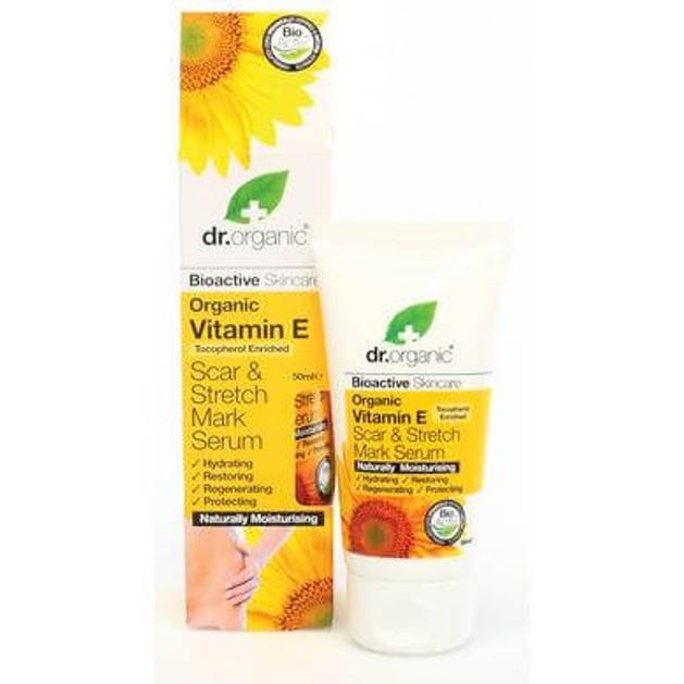 Dr Organic Organic Vitamin E Scar & Stretch Mark Serum Κρέμα για Ραγάδες με Βιολογική Βιταμίνη E  50ml
