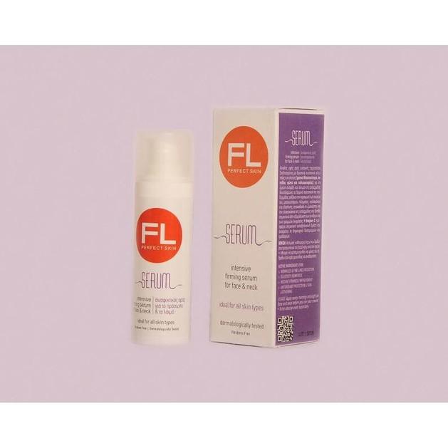 FL Products Skin firming Serum Συσφικτικός Ορός Για Το Πρόσωπο & Το Λαιμό 30ml