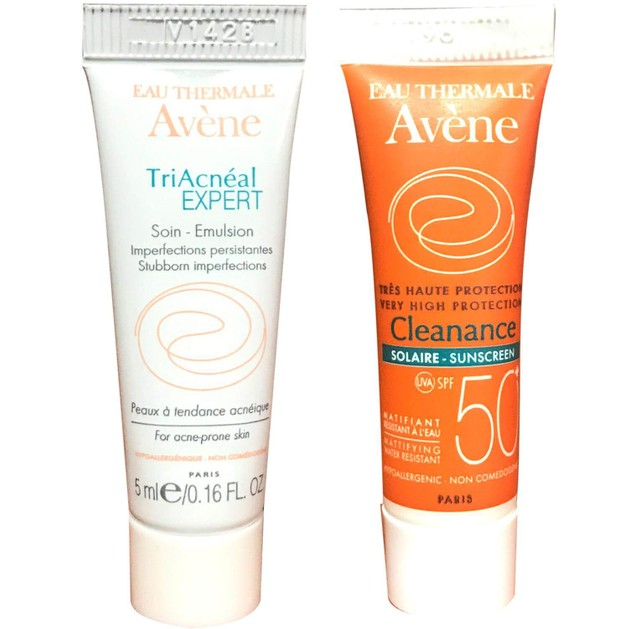 Δώρο Avene Cleanance Triacneal Expert 5ml & Very High Protection Cleanance Solaire Spf50+ 5ml