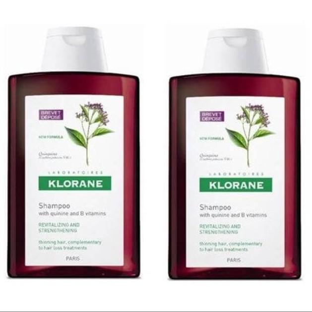 Klorane Shampooing a la Quinine Promo 2x400ml
