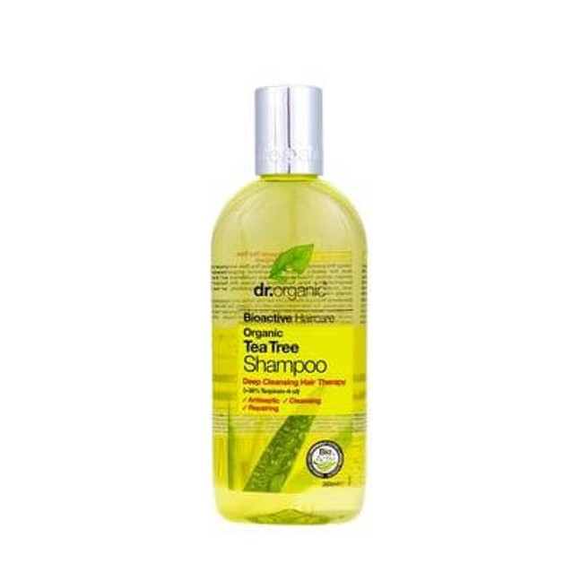 Dr.Organic Organic Tea Tree Shampoo 265ml