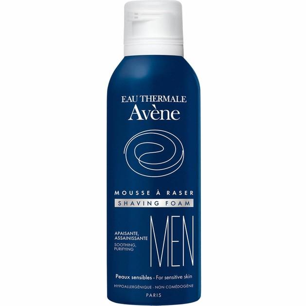Avene Men Mousse a Raser Shaving Foam Travel Size Καταπραϋντικός - Εξυγιαντικός Αφρός Ξυρίσματος 50ml