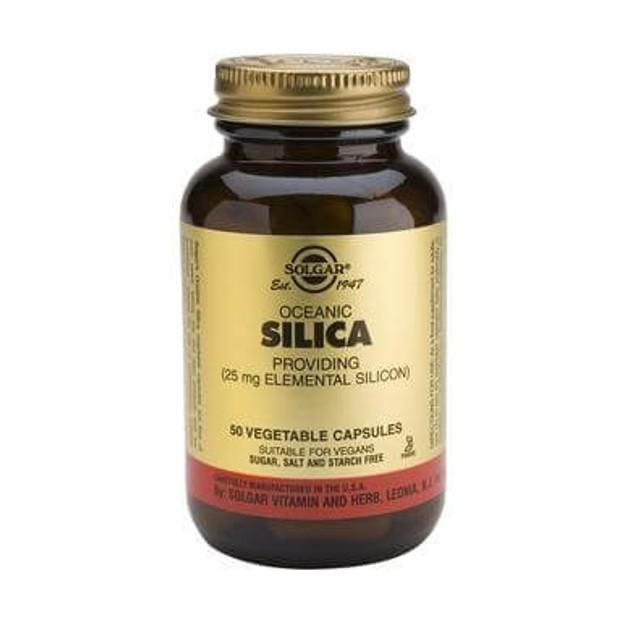Solgar Oceanic Silica 25 mg 50 veg.caps