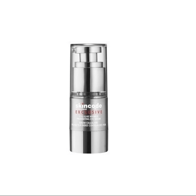 Skincode Cellular Wrinkle Prohibiting Eye Serum Δροσιστικός Μεταξένιος Ορός Τζελ 15ml