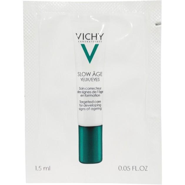 Δείγμα Vichy Slow Age Yeux Κρέμα Ματιών που Προλαμβάνει και Αντιμετωπίζει τα Σημάδια Γήρανσης 1.5ml