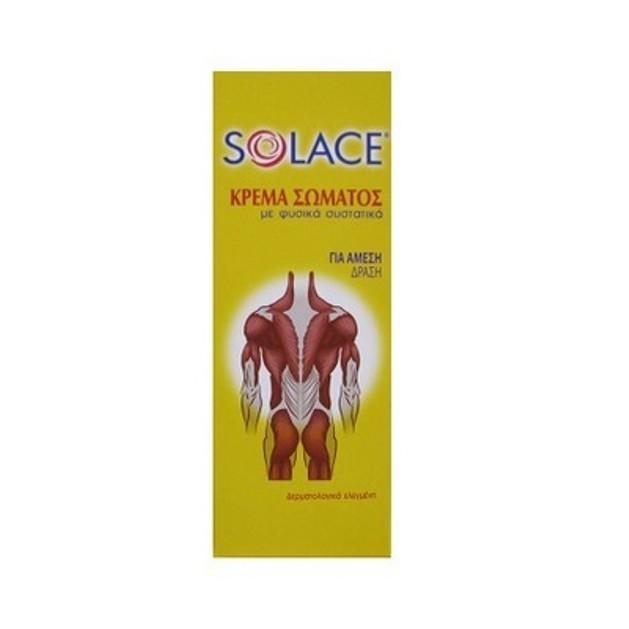 Solace Θερμαντική Κρέμα Σώματος Με Φυσικά Συστατικά 100ml