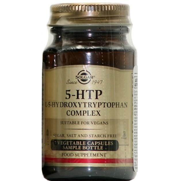 Δώρο 5-HTP L-5-Hydroxytryptophan Complex Συμπλήρωμα Διατροφής Απαραίτητο για την Καλή Υγεία του Εγκεφάλου 7 veg.caps