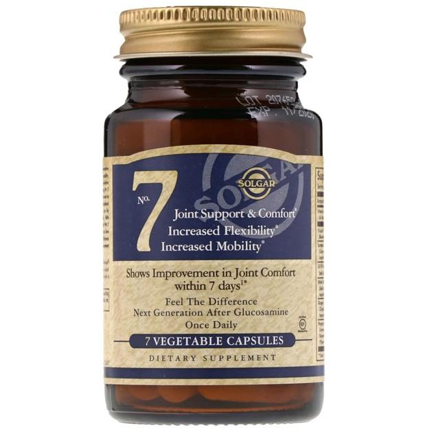 Δώρο Solgar No 7 Συμπλήρωμα Διατροφής για την Καλή Λειτουργία των Αρθρώσεων 7 veg.caps