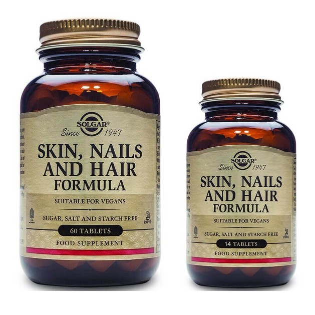 Solgar Πακέτο Προσφοράς Skin Nails & Hair Formula Συμπλήρωμα Διατροφής για Νύχια, Μαλλιά & Δέρμα 60 Tabs & Δώρο 14Tabs