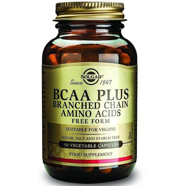 Solgar BCAA Plus 50 veg.caps