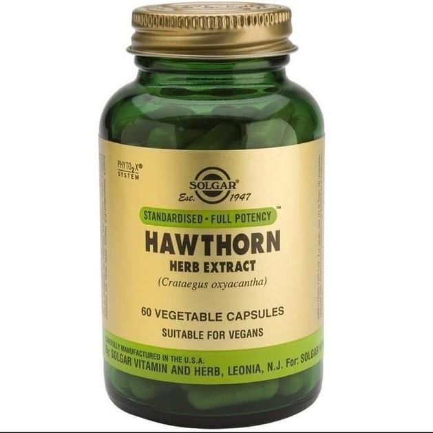 Solgar Sfp Hawthorn Herb Extract 60 veg.caps