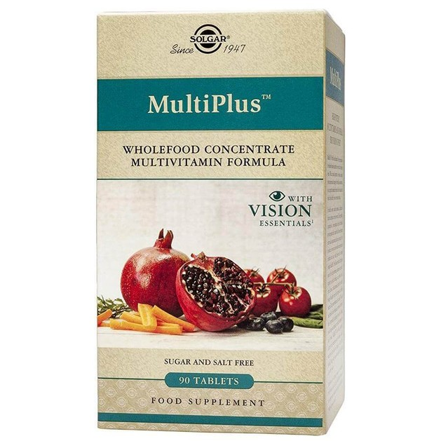 Solgar Multiplus With Vision Essentials 90 tabs