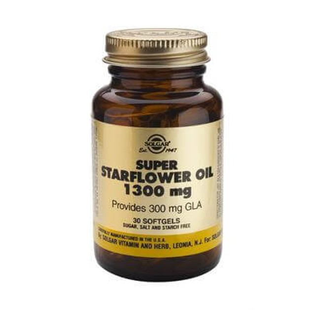 Solgar Super Starflower Oil 300mg softgels