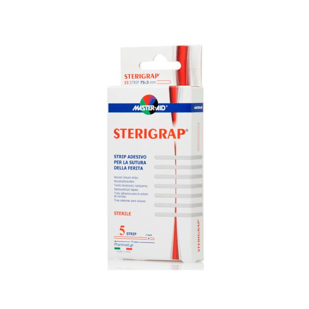 Master Aid Sterigrap Ταινία Σύγκλισης Τραυμάτων 5τεμ