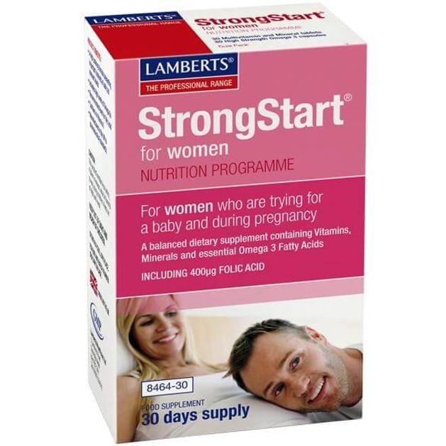 Lamberts Strong Start for Women 30 tabs