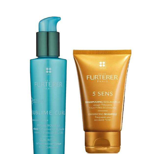 Δώρο Rene 5 Sens Enhancing Shampoo 15ml & Rene Furterer Sublime Curl Leane in 15ml
