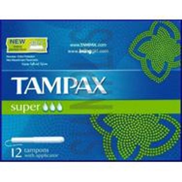Tampax  Super Ταμπόν Κανονικό Μέγεθος 12τμχ