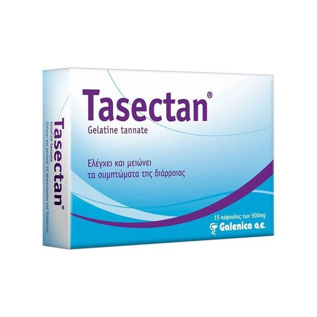Tasectan για τον Έλεγχο & τη Μείωση των Συμπτωμάτων της Διάρροιας 500mg 15Caps