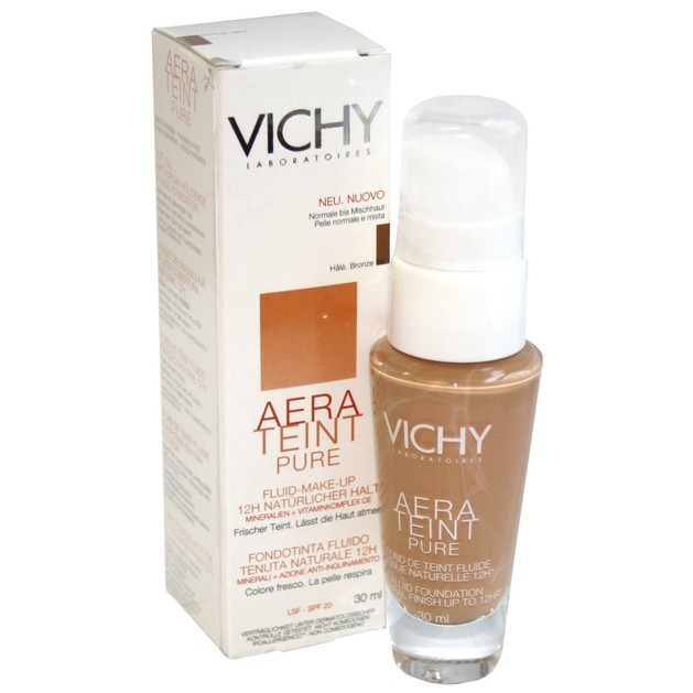 Vichy Aera teint Pure Fluide Λεπτόρρευστη Υφή Make Up