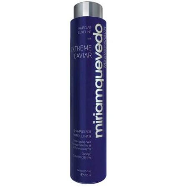 Miriam Quevedo Extreme Caviar Shampoo For Difficult Hair Σαμπουαν Για Ταλαιπωρημένα Μαλλιά  250ml