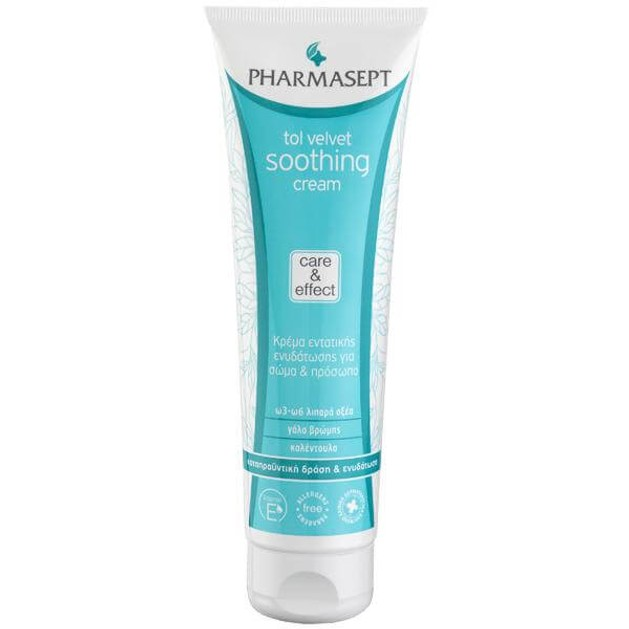 Pharmasept Tol velvet  Soothing Cream Face & Body 150ml