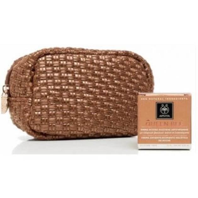 Δώρο Πρακτικό Τσαντάκι με Ειδική Συσκευασία Queen Bee Νύχτας 15ml με την Αγορά της Queen Bee Κρέμα Ημέρας Riche / Legere 50ml