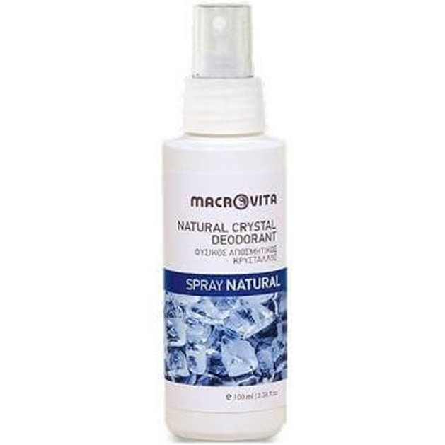 Macrovita Natural Crystal Deodorant Spray 100ml