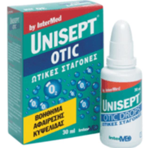 Unisept Otic Ωτικές Σταγόνες 30ml