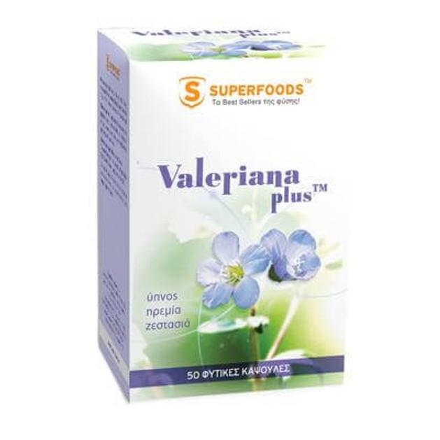Superfoods Valeriana plus™ 50caps
