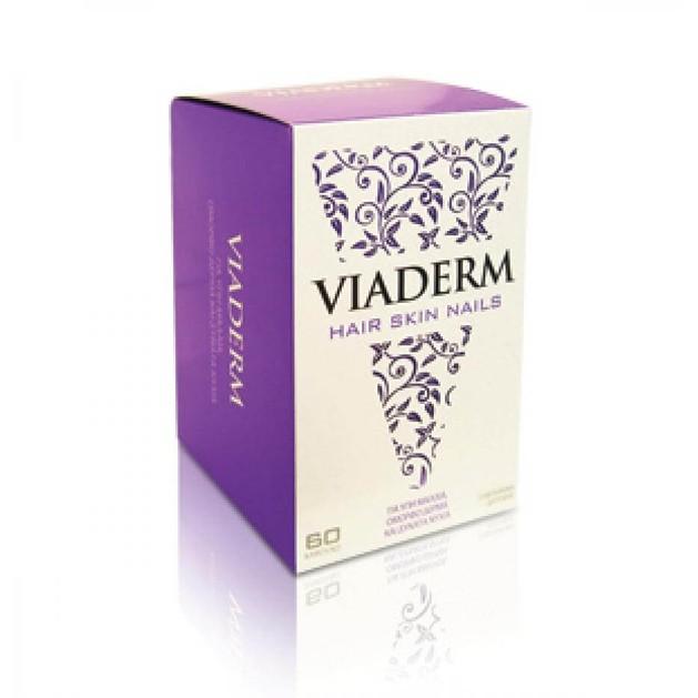 VivaPharm Viaderm Για Υγιή Μαλλιά,Δέρμα Και Νύχια 60tabs