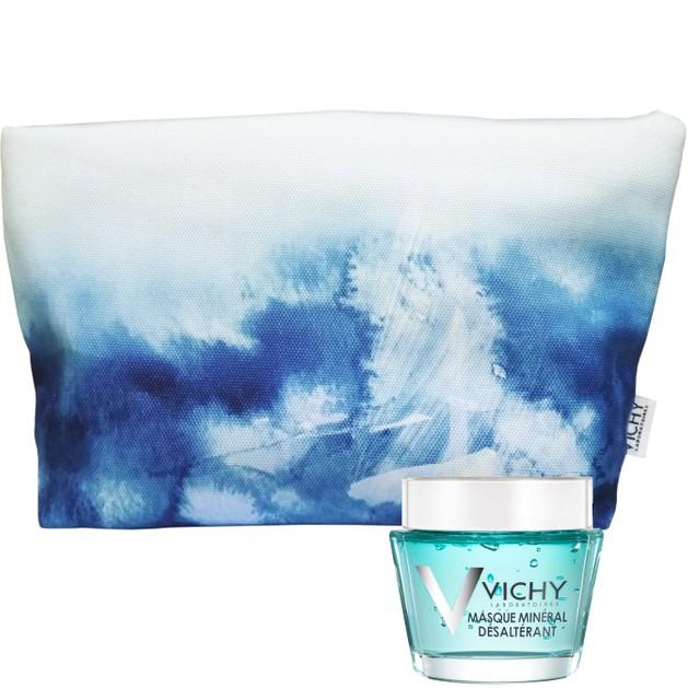 Δώρο Vichy Masque Mineral Desalterant Μάσκα Ενυδάτωσης & Καταπράϋνσης για Ευαίσθητες Επιδερμίδες 15ml & Vichy Νεσεσέρ