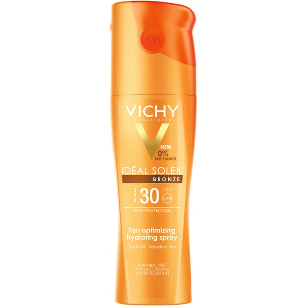 Vichy Ideal Soleil Bronze Spray Spf30, 200ml