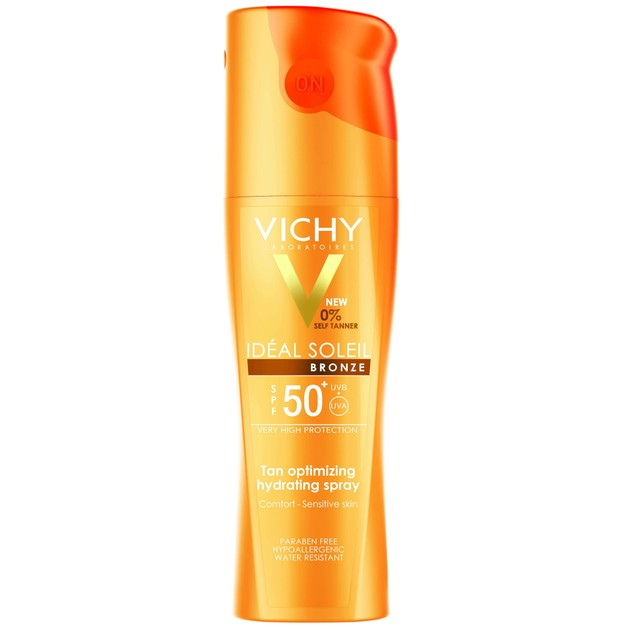 Vichy Ideal Soleil Bronze Spray Spf50+, 200ml