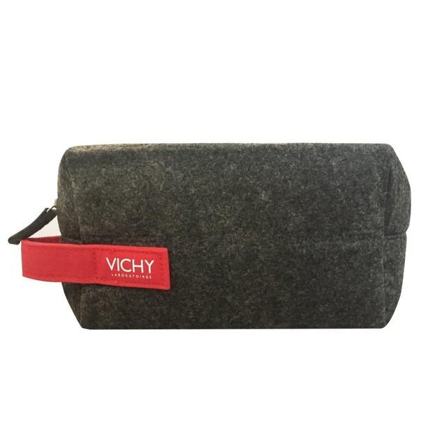 Δώρο Vichy Men Pouch Red Ανδρικό Νεσεσέρ 1 τεμάχιο
