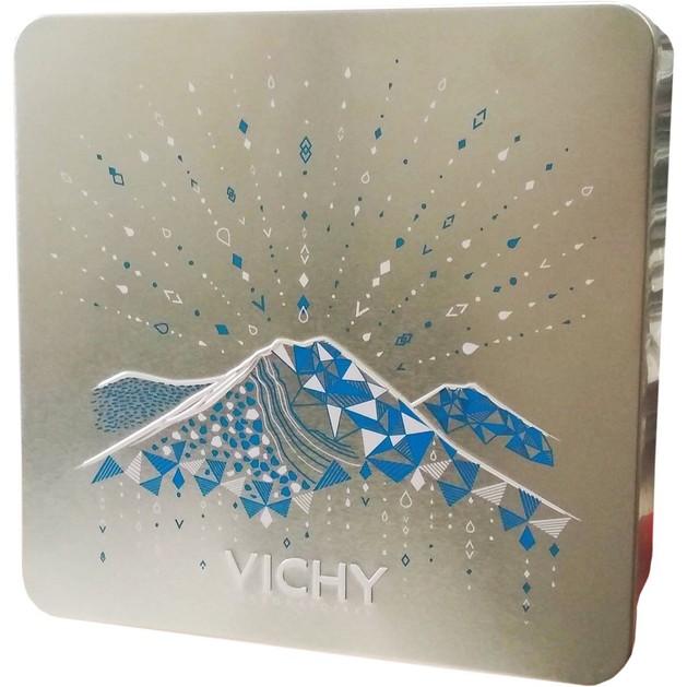 Δώρο Vichy Xmas Metal Box Μεταλλικό Κουτί