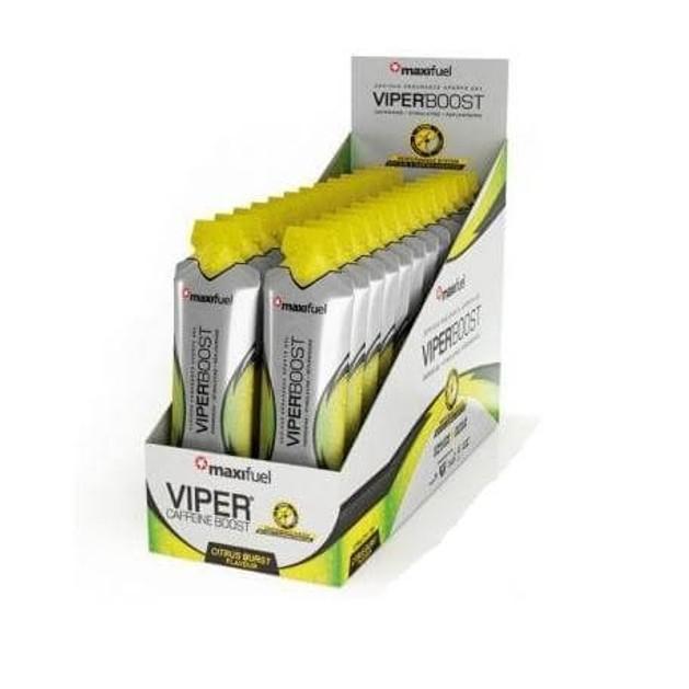 Maximuscle Maxifuel Viper Boost Gel Τζελ Για Γγρήγορη Νοητική Και Φυσική Εκτόνωση 1τεμάχιο
