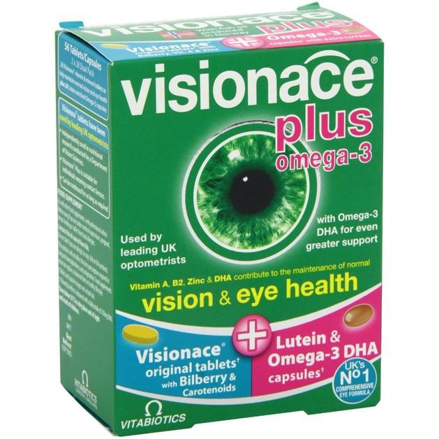 Vitabiotics Visionace 28tabs+28caps