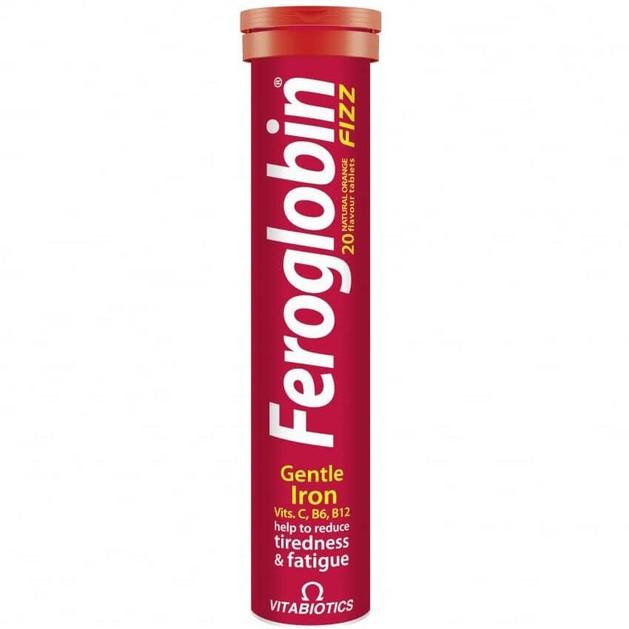 Vitabiotics Feroglobin Fizz 20effer.tabs