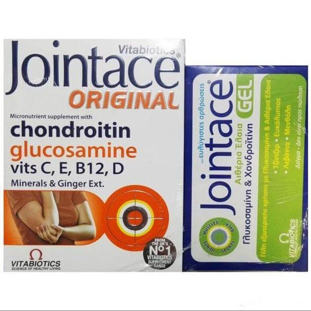 Vitabiotics Jointace Original Υποστήριξη των Αρθρώσεων 30 tabs & ΔΩΡΟ Δείγμα Jointace Gel
