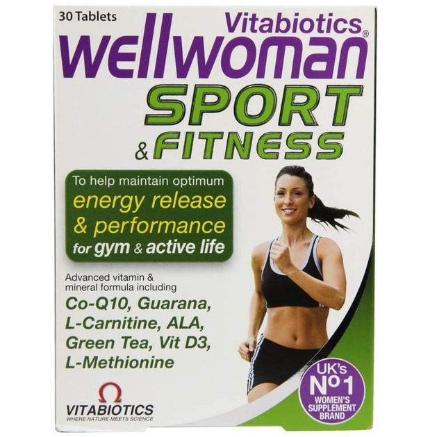 Wellwoman Sport & Fitness 30tabs - Vitabiotics