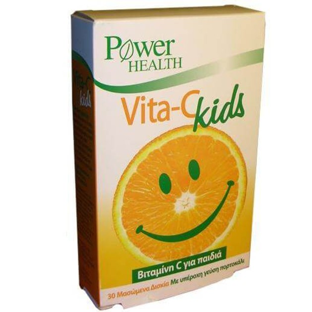 Power Health Vita-C Kids Chewable Tabs