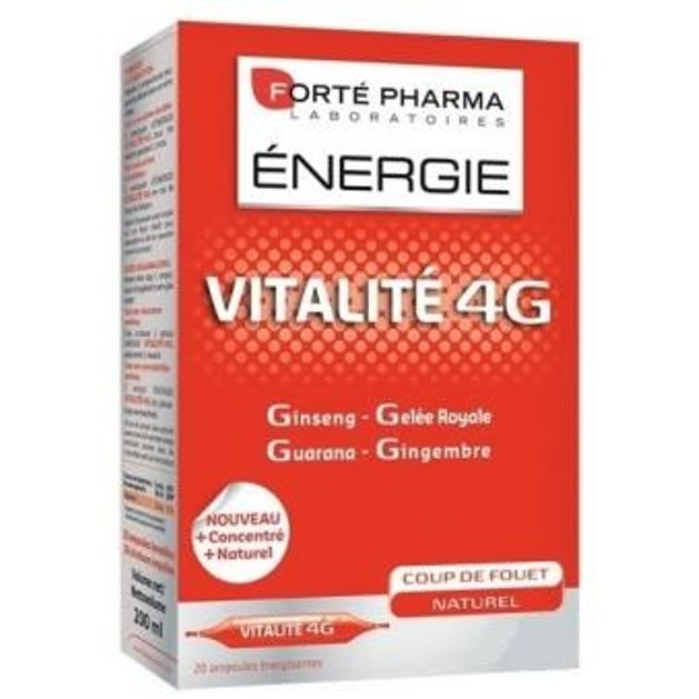 Forte Pharma Energy Vitalite 4G 20Αμπούλες