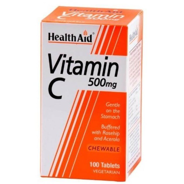 Health Aid Vitamin C 500mg 100chew.tabs