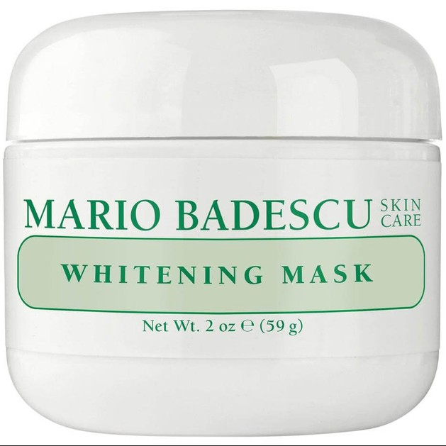 Mario Badescu Whitening Mask Ενυδατική Μάσκα που Φωτίζει & Μειώνει τα Σημάδια Ακμής & τις Δυσχρωμίες Από τον Ήλιο 59ml
