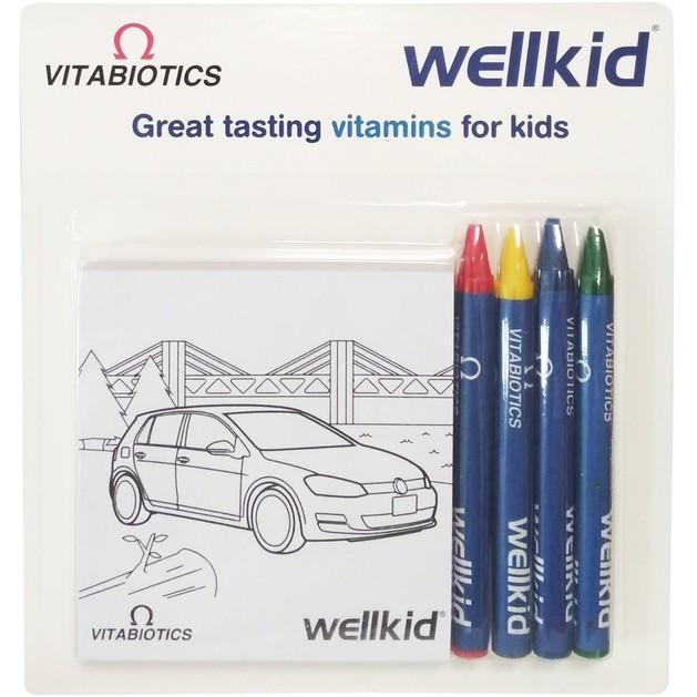 Δώρο Vitabiotics Wellkid Σετ Ζωγραφικής για Παιδιά